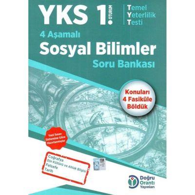 YKS 1. Oturum 4 Aşamalı Sosyal Bilimler Soru Bankası Doğru Orantı Yayınları