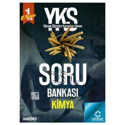 YKS 1. Oturum Kimya Soru Bankası ArtıNet Yayınları