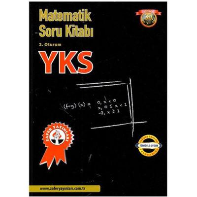 YKS 2. Oturum Matematik Soru Kitabı Zafer Yayınları