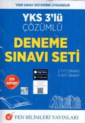 Fen Bilimleri Yayınları - YKS 3 lü Çözümlü Deneme Sınavı Seti Fen Bilimleri Yayınları