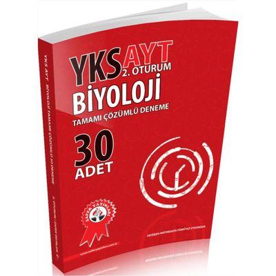 YKS AYT 2.Oturum Biyoloji Tamamı Çözümlü 30 Deneme Zafer Yayınları