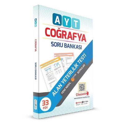 YKS AYT Coğrafya Soru Bankası 33 Föy Çözümlü Farklı Sistem Yayınları