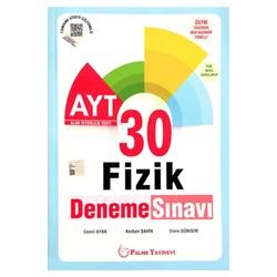 Palme Yayıncılık - Hazırlık Kitapları - AYT 30 Fizik Deneme Sınavı