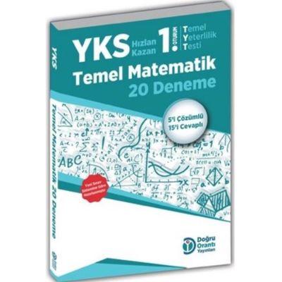 YKS Temel Matematik 20 Deneme Doğru Orantı Yayınları