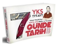 Benim Hocam Yayınları - YKS TYT AYT Nokta Atışı Bilgiler ve Yorumlarla 7 Günde Tarih Kitabı Benim Hocam Yayınları