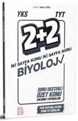 Benim Hocam Yayınları - YKS TYT Biyoloji 2 Artı 2 Soru Destekli Özet Konu Yaprakları Benim Hocam Yayınları