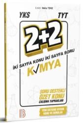 Benim Hocam Yayınları - YKS TYT Kimya 2 Artı 2 Soru Destekli Özet Konu Yaprakları Benim Hocam Yayınları