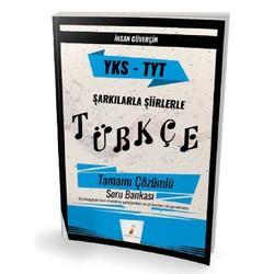 Pelikan Tıp Teknik Yayıncılık - YKS TYT Şarkılarla Şiirlerle Türkçe Tamamı Çözümlü Soru Bankası