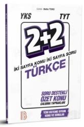 Benim Hocam Yayınları - YKS TYT Türkçe 2 Artı 2 Soru Destekli Özet Konu Yaprakları Benim Hocam Yayınları