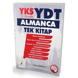 Pelikan Tıp Teknik Yayıncılık - YKS-YDT 3. Oturum Almanca Tek Kitap