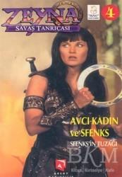 Aksoy Yayıncılık - Zeyna Savaş Tanrıçası 4 Sfenks'in Tuzağı Avcı Kadın ve Sfenks