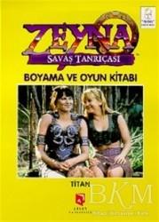 Aksoy Yayıncılık - Zeyna Savaş Tanrıçası Boyama ve Oyun Kitabı : Titan